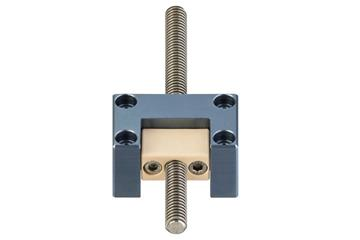 drylin® support for lead screw nuts