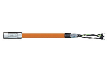 readycable® motor cable acc. to Parker standard iMOK44, base cable PUR 10 x d