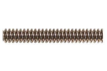 drylin® trapezoidal lead screw, right-hand thread, two start, stainless steel
